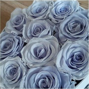 Flower Box z wiecznych róż 10szt