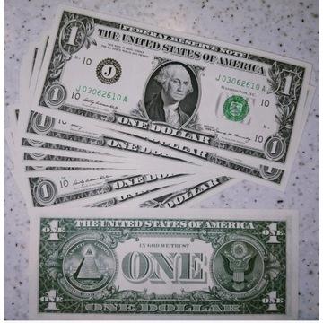 1 dolar 1969 B  Kansas UNC rzadki