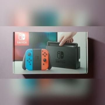 Konsola Nintendo SWITCH 32GB Red & Blue + Gratisy