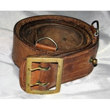 Pas oficerski z ringami  128 cm długości