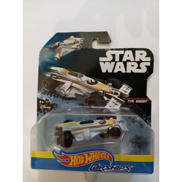 THE GHOST  autko Hot Wheels Star Wars Carships