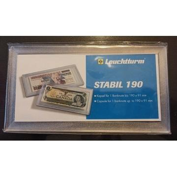 Kapsuły ochronne na banknoty Leuchtturm Stabil 190