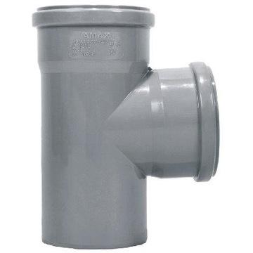 Trójnik kanalizacyjny 110x110x90