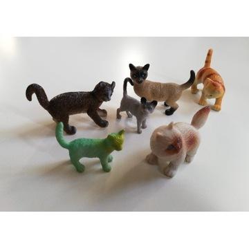 Kotki figurki kotów koty do kolekcji