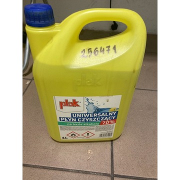 PLAK - Płyn do dezynfekcji - uniwersalny - alkohol