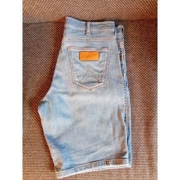 Wrangler 5 Pocket Short W 30 Jeans Jak Nowe