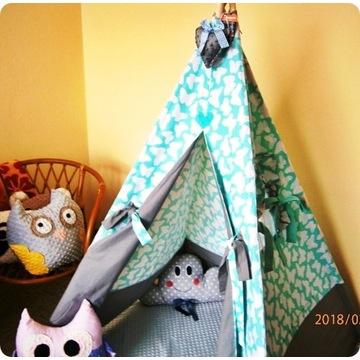 namiot tipi - motylki , bez stelaża