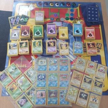 Kolekcja kart Pokemon. Base Set Blastoise, Zapdos