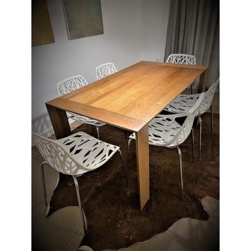zestaw designerskich krzeseł włoskich 6szt.