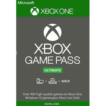 Xbox game pass ultimate Gold 1 miesiąc kod cyfrowy