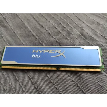 Kingston HyperX blu 4GB 1600MHz, CL9 DDR3