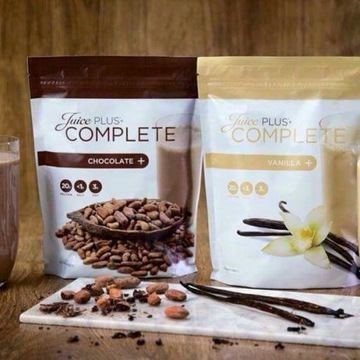 Complete Shake Czekoladowy i waniliowy juice plus