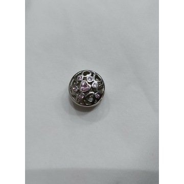 Srebrny charms do bransoletek typu Pandora
