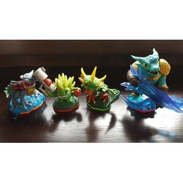 Cztery Figurki Skylanders STAN IDEALNY