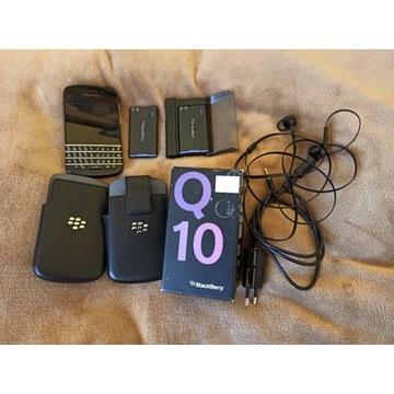 Blackberry Q10 - bogaty zestaw