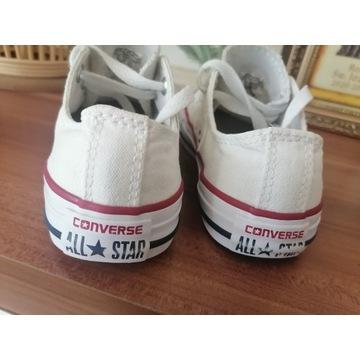 Trampki all Star converse 30 białe