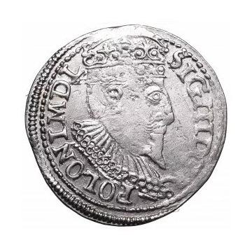 ZYGMUNT III WAZA - TROJAK 1596 OLKUSZ