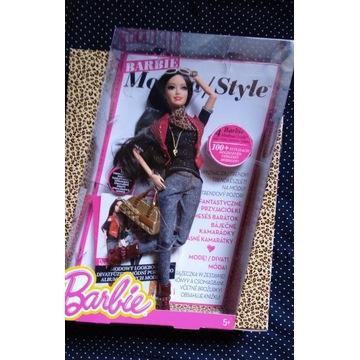 Lalka Barbie Modna Raquelle Style Luxe - UNIKAT