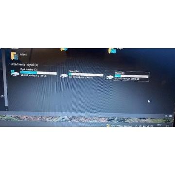 Laptop Lenovo G500s 4GB dysk SSD i HDD 620 GB i3