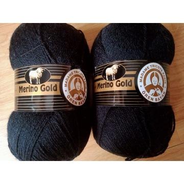 Włóczka Merino Gold 60% merino 200g (2 motki)