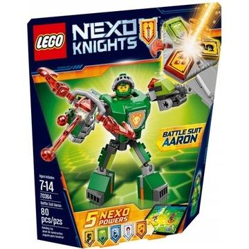 Lego Nexo 70364 zbroja Aarona JAK NOWY 100%