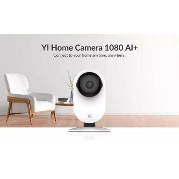 Domowa kamera IP do monitoringu Yi 1080p AI+, nowa