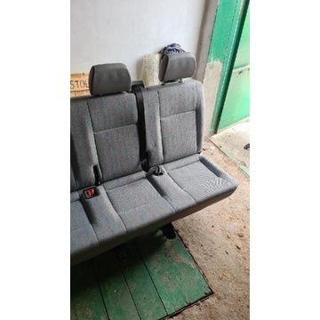 Fotele volkswagen t5 2 i 3 rząd. Dobry stan