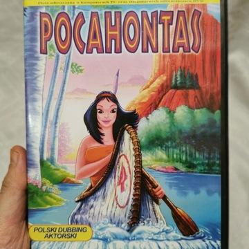 Bajka dla dzieci Pocahontas video cd