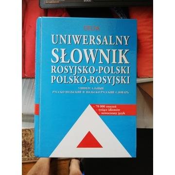 Delta Uniwersalny Słownik Rosyjsko Polski