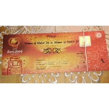 Bilet euro 2004