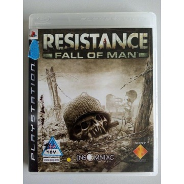 RESISTANCE FALL OF THE MAN PS3
