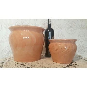 2 x donica ceramiczna