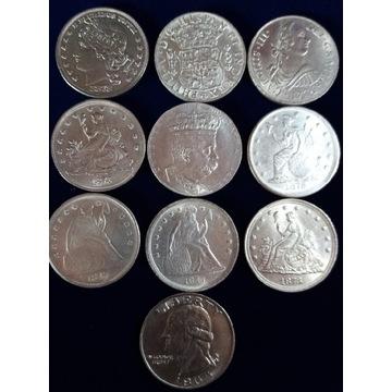 Stare Monety Dollar +inne??? 10 sztuk!
