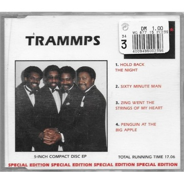 TRAMMPS - HOLD BACK THE NIGHT