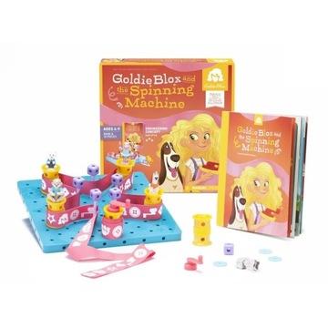 """GoldieBlox zestaw """"maszyna do obrotów"""" klocki HIT"""