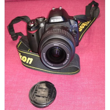 Aparat Nikon D60 18-55 VR Kit obiektyw NIKKOR