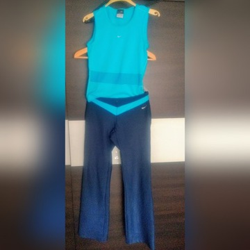 Nike dri-fit spodnie top koszulka fitness rozXS/S