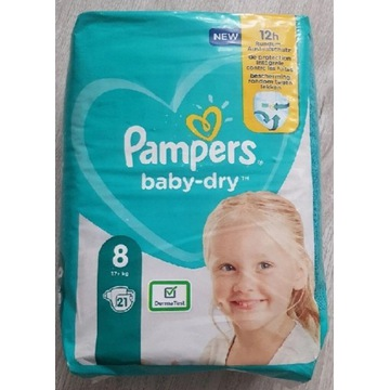 PAMPERS BABY-DRY 8 17+KG