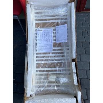 Grzejnik łazienkowy biały drabinka 100x50