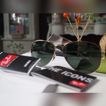 Okulary Ray Ban Aviator RB3025