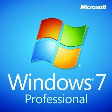 Aktywacja ONLINE ! Klucz Windows 7 PRO 32/64 Bit's