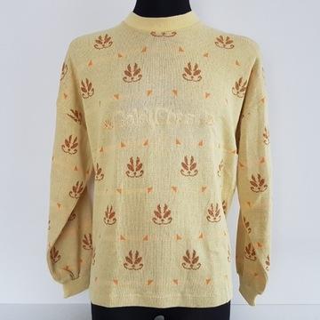 Santini CONTRARIO bluza sweter sweterek nowy XL