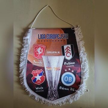 Wisła Kraków Proporzec Liga Europy