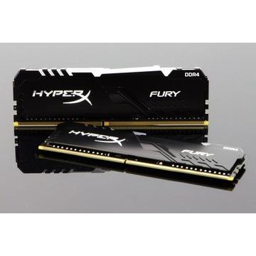 HyperX 32GB (2x16GB) 3200MHz CL16 Fury RGB