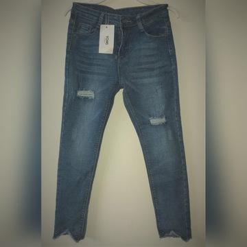 Dziewczęce spodnie dziecięce rozm M 12 (40)