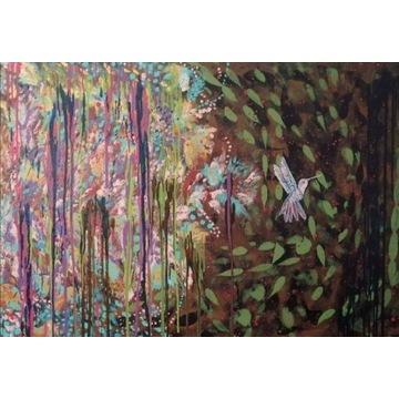 Obraz akryl na płótnie 100 cm x 70 cm