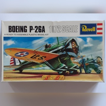 1:72 Boeing P-26A Revell Great  Britain Vintage'67
