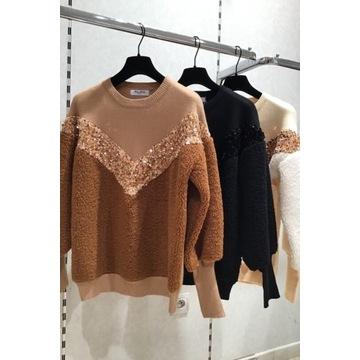 Milusie swetry Miss Charm Paris bukla