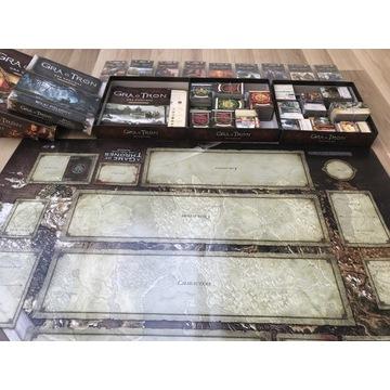 Gra o Tron LCG druga edycja 3 podstawy dodatki