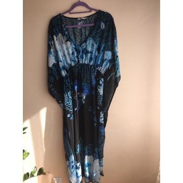 PAREO modna tunika plażowa- DŁUGIE 140cm